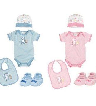 Set 4 piese bebelus ieftin