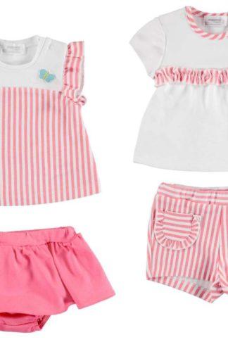 Set tricouri si pantaloni scurti bebelusi