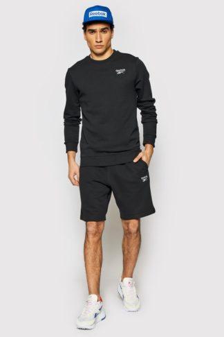 bluza trening reebok neagra barbati
