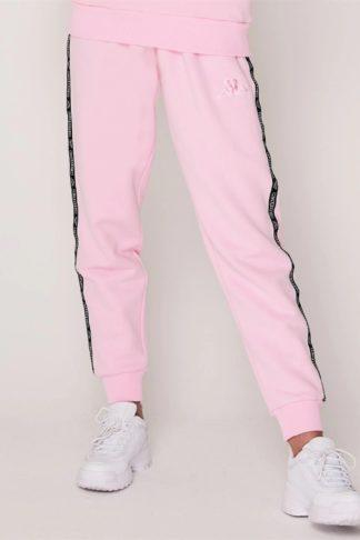 pantaloni trening roz kappa dama