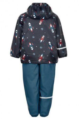 set jacheta pantaloni de vreme rece ploaie nou nascuti