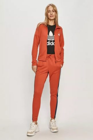 trening portocaliu adidas dama