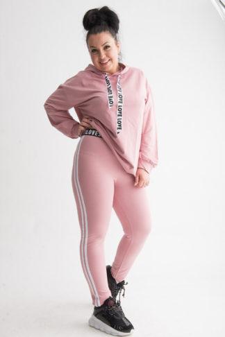 trening roz plus size dama