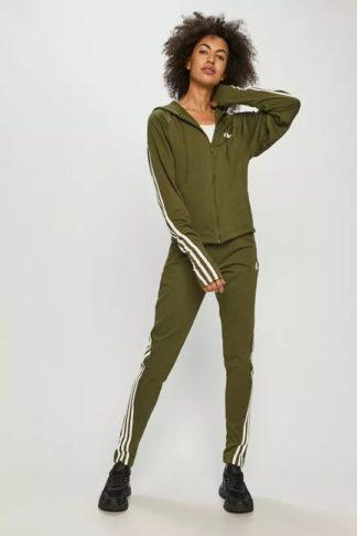 trening verde adidas dama