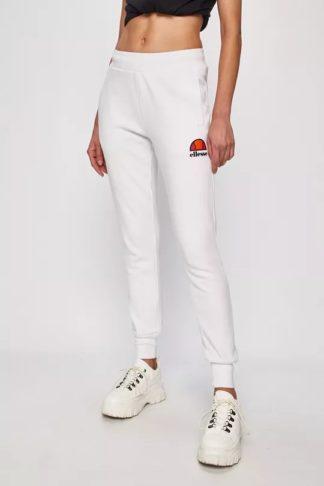 pantaloni albi ellesse femei